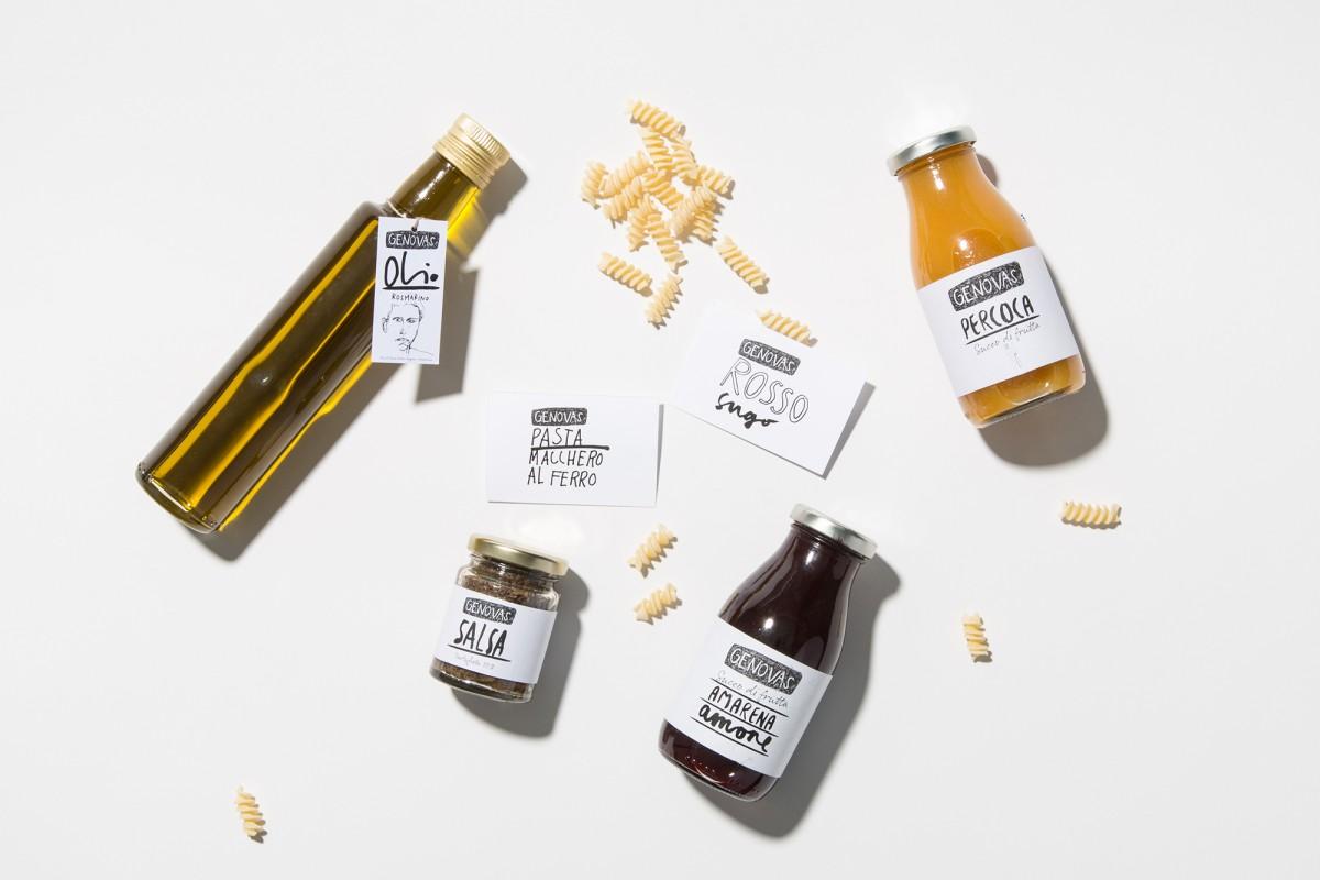 Simone Züger: «Genovas» – Italian food and beverage store