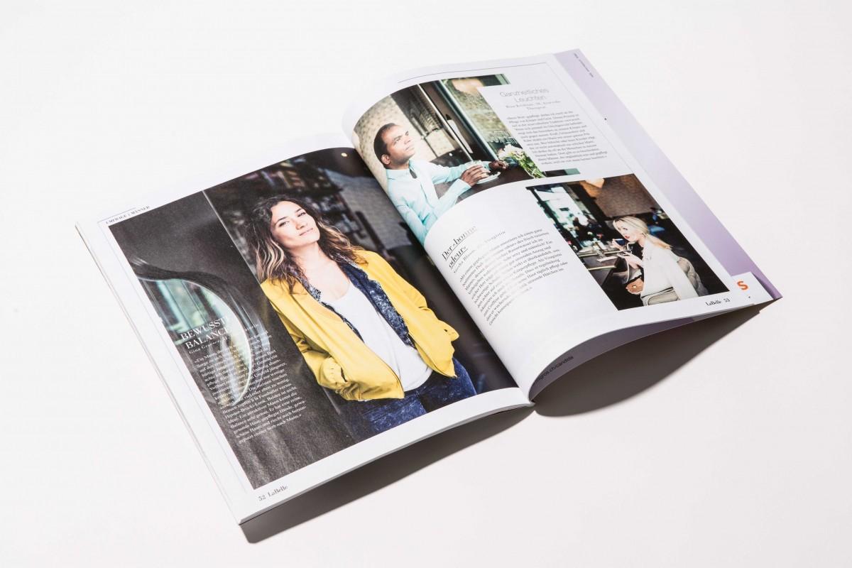 Simone Züger: «La Belle» lifestyle magazine – Migros