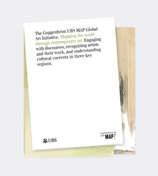 Simone Züger: Guggenheim NYC & UBS:  Global Art Initiative