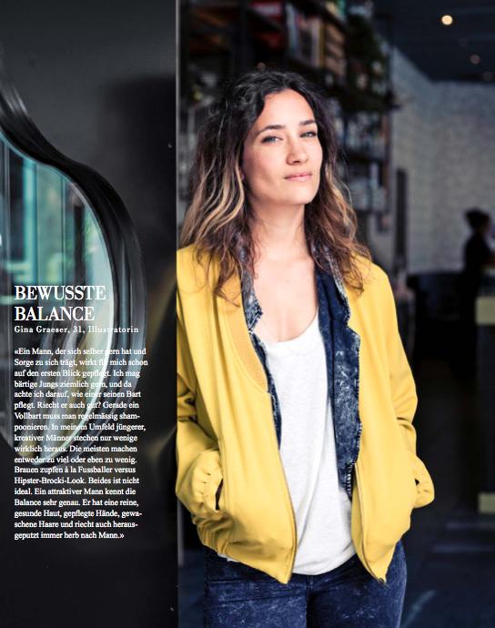 Simone Züger: Migros – Lifestyle Magazin